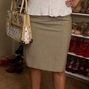 Kaki/Tan pencil skirt